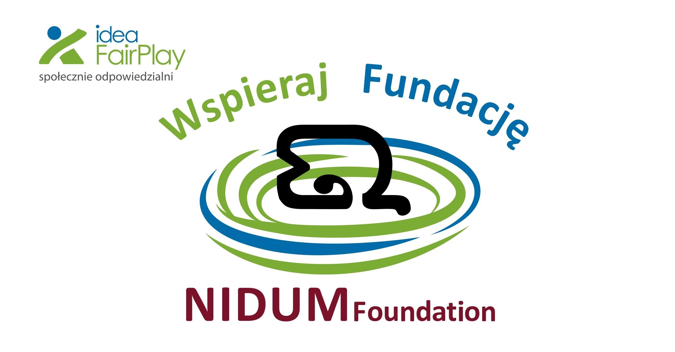 Organizacją wyróżnioną w tym tygodniu jest... Fundacja Nidum!
