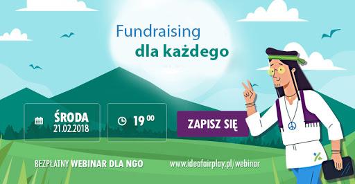 Webinar o fundraisingu